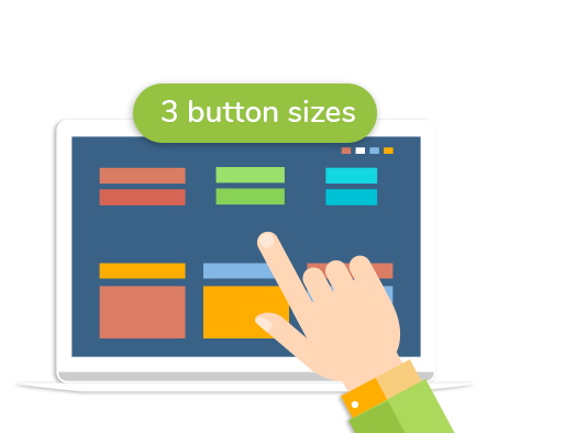 button sizes