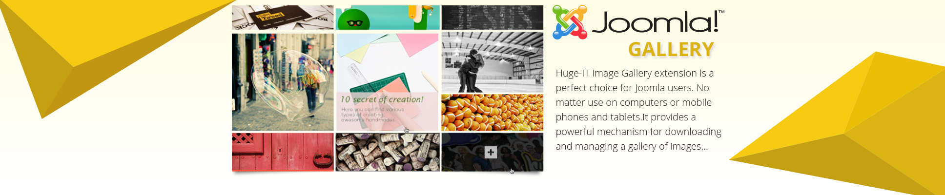 Joomla Gallery Demo 5 Thumbnails